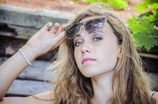 Макияж для серых глаз, летний макияж для девушек с русыми волосами и голубыми глазами