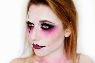 Макияж на Хэллоуин, макияж на хэллоуин в стиле джокера