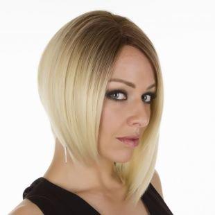 Молочный цвет волос на короткие волосы, стрижки и прически для тонких волос - а-боб