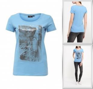 Голубые футболки, футболка finn flare, весна-лето 2016
