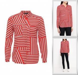 Красные блузки, блуза dorothy perkins, осень-зима 2016/2017