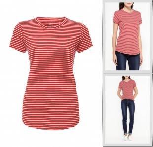 Красные футболки, футболка gap, осень-зима 2016/2017
