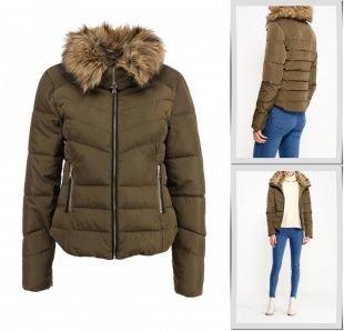 Хаки куртки, куртка утепленная incity, осень-зима 2015/2016