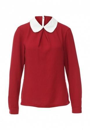 Бордовые блузки, блуза angeleye london, осень-зима 2016/2017