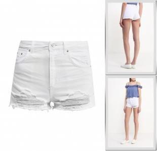 Белые шорты, шорты джинсовые topshop, весна-лето 2016
