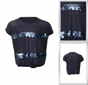 Синие футболки, футболка sisley, весна-лето 2016