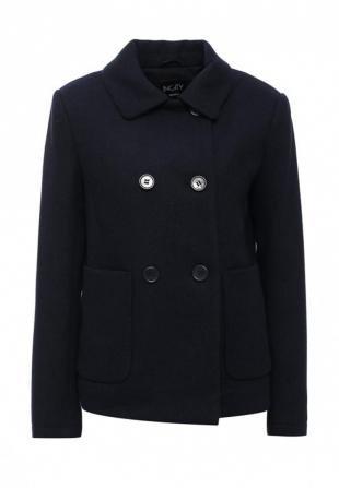 Синие пальто, полупальто incity, осень-зима 2016/2017