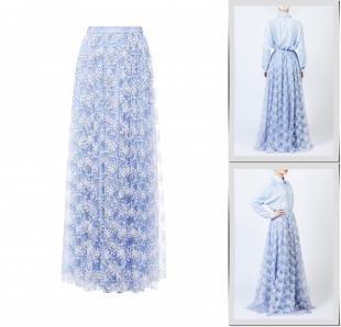 Голубые юбки, юбка bella kareema,