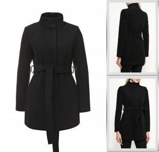 Черные пальто, пальто springfield, осень-зима 2016/2017