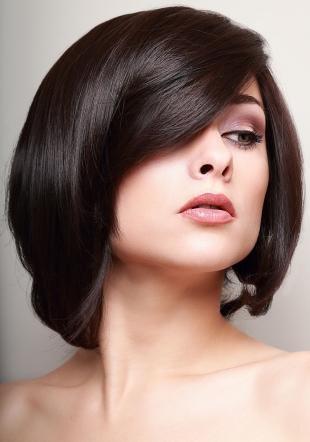 Цвет волос морозный каштан, роскошный темно-шоколадный цвет волос