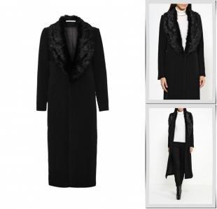 Черные пальто, пальто glamorous, осень-зима 2016/2017