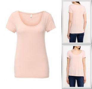 Розовые футболки, футболка only, осень-зима 2016/2017