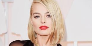 Макияж для блондинок с красной помадой, деловой макияж для блондинки
