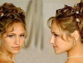 Свадебные прически на средние волосы, фото 1