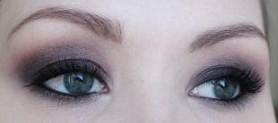 Макияж для голубых глаз и русых волос, макияж смоки айс для серых глаз