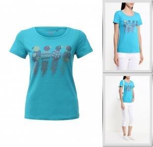 Голубые футболки, футболка sela, весна-лето 2016