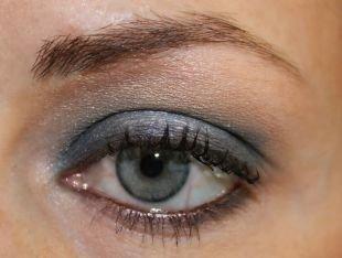 Макияж в серых тонах для серых глаз, макияж для серо голубых глаз