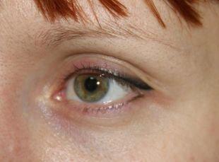 Татуаж глаз, татуаж глаз - стрелки с растушевкой