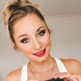 Abend-Make-up für grüne Augen