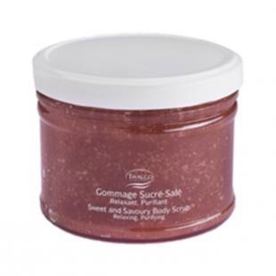Скраб для тела из морской соли, thalgo sweet & savory body scrub (объем 250 г)