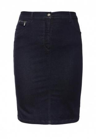 Синие юбки, юбка джинсовая betty barclay, весна-лето 2016