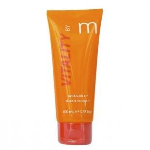 Очищающий скраб, matis энергия витаминов для молодой кожи cкраб для ежедневного очищения и удаления макияжа 7/7 100 мл (энергия витаминов)