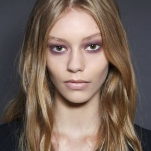 Макияж без туши, весенний макияж для узких глаз
