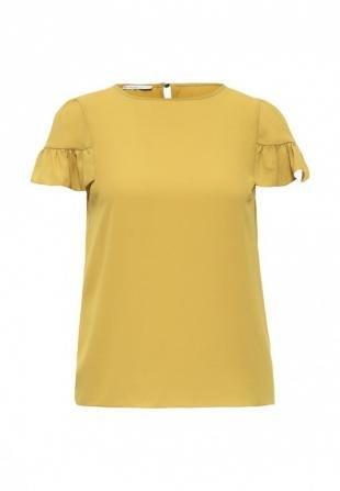 Желтые блузки, блуза motivi, осень-зима 2016/2017