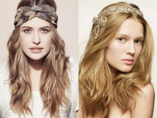 Прически с диадемой, варианты причесок с распущенными волосами и повязкой