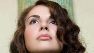 Свадебный макияж для брюнеток с карими глазами, натуральный макияж для карих глаз
