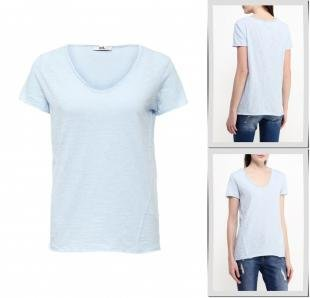 Голубые футболки, футболка adl, весна-лето 2016