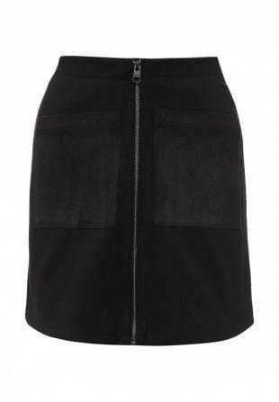 Черные юбки, юбка calvin klein jeans, осень-зима 2016/2017