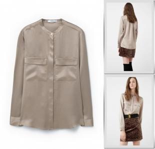 Блузки, блуза mango, осень-зима 2016/2017