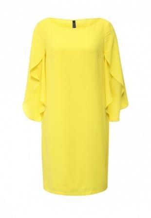 Желтые платья, платье bestia, весна-лето 2016